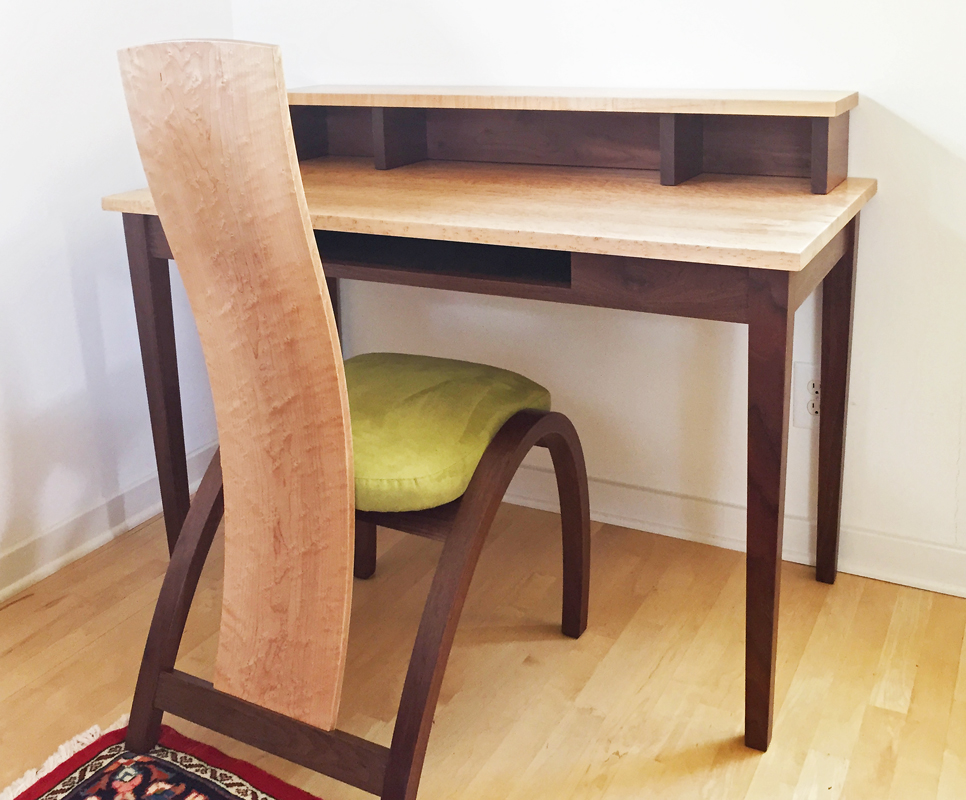 Custom desk and chair