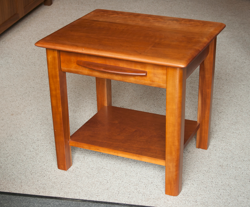 Mystic nightstand, cherry, 22 x 20 x 22 inches, $1,290